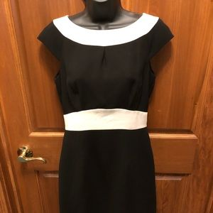 Black and White Professional dress